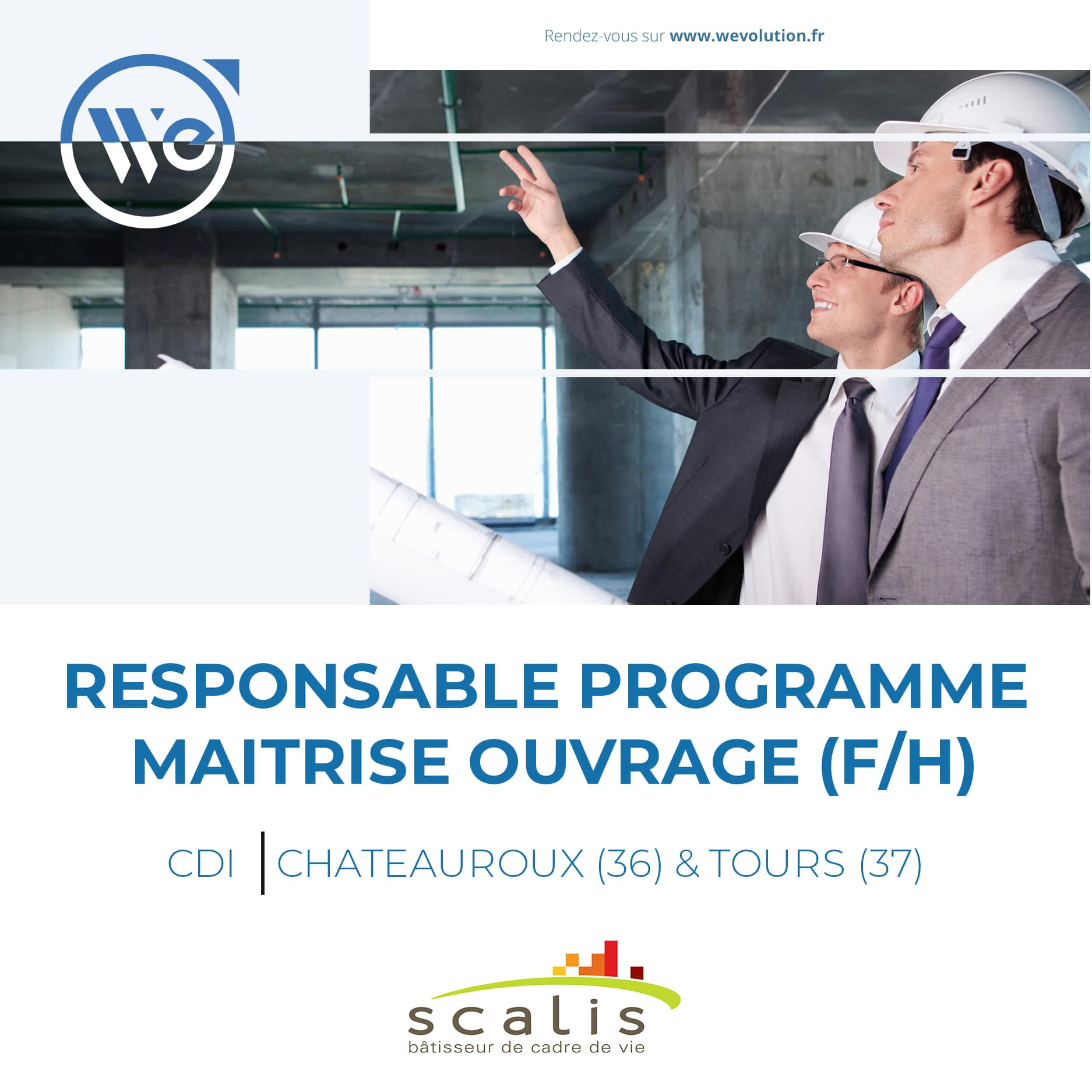 RESPONSABLE PROGRAMME MAITRISE OUVRAGE – scalis
