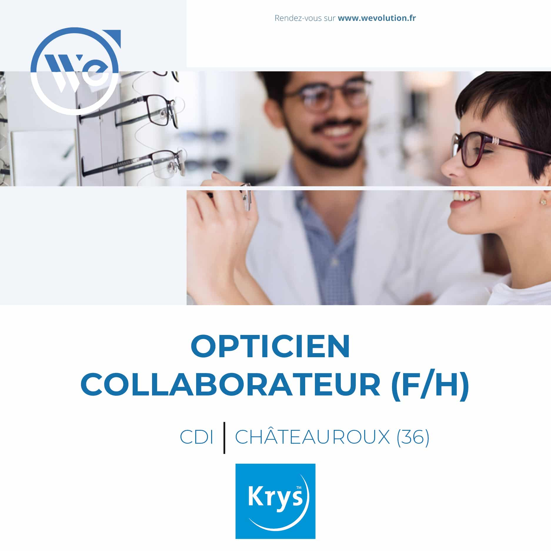 OPTICIEN COLLABORATEUR – KRYS