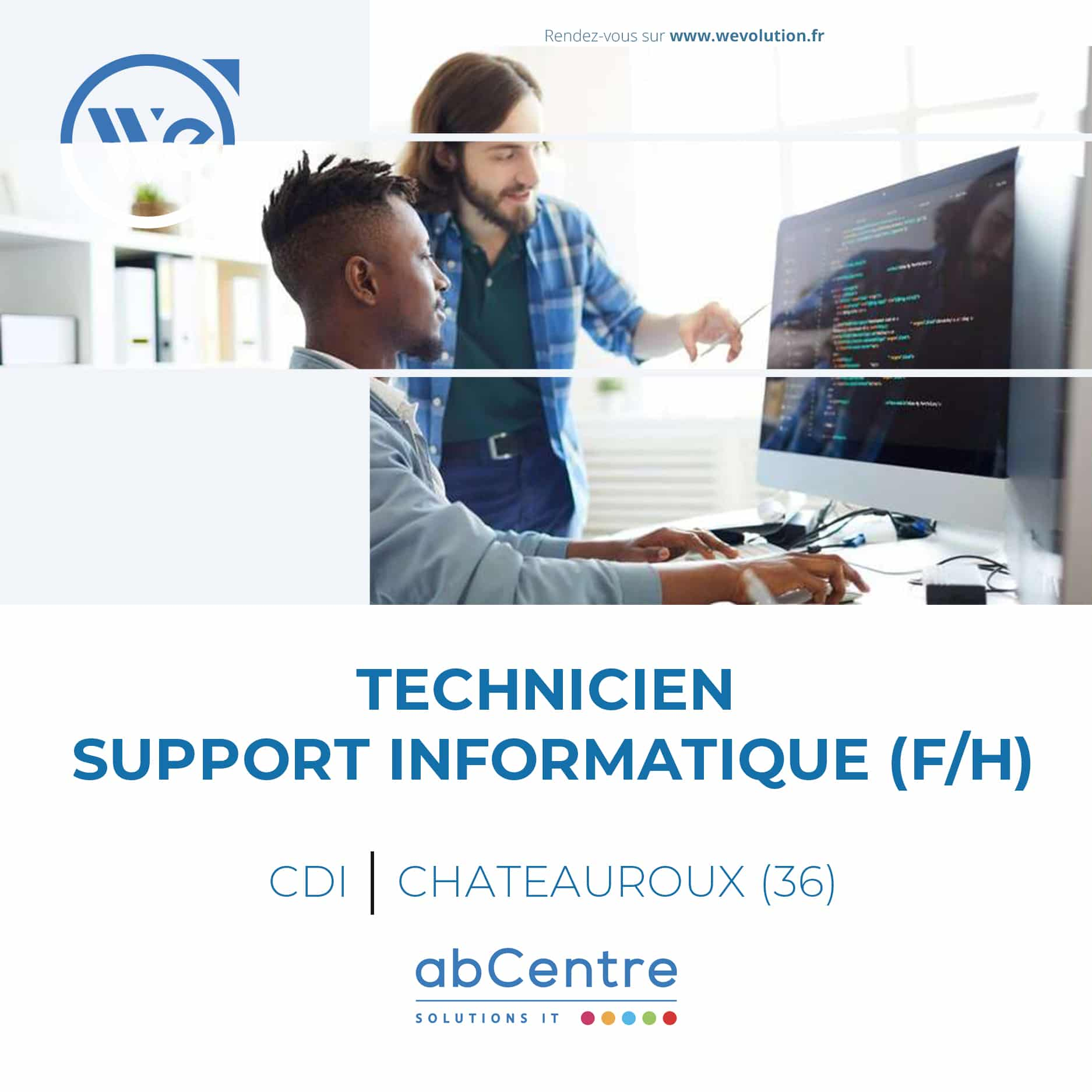 TECHNICIEN SUPPORT INFORMATIQUE – abCentre