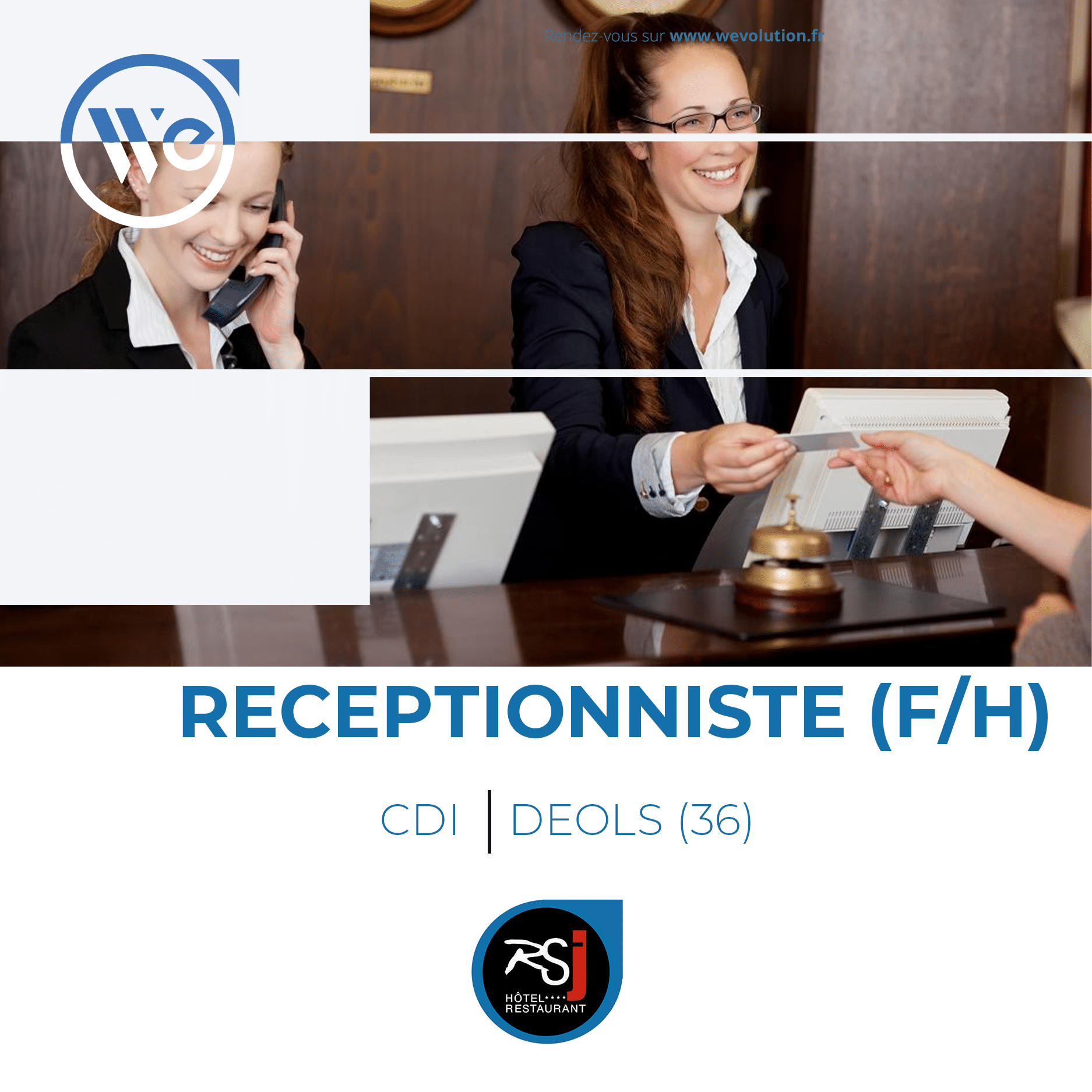 RECEPTIONNISTE (F/H)