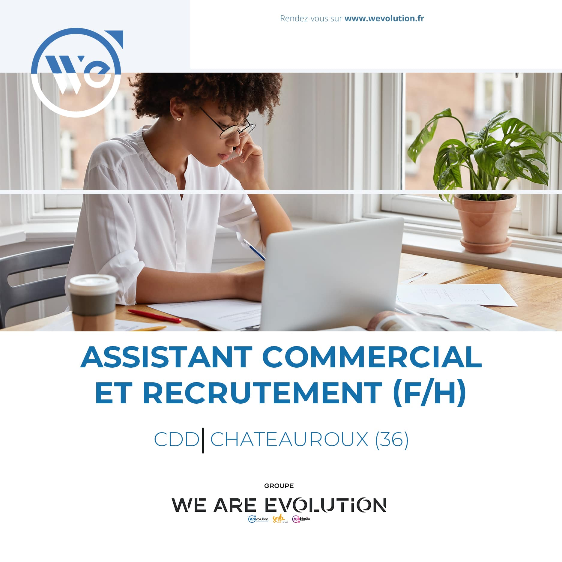ASSISTANT COMMERCIAL & RECRUTEMENT (F/H)