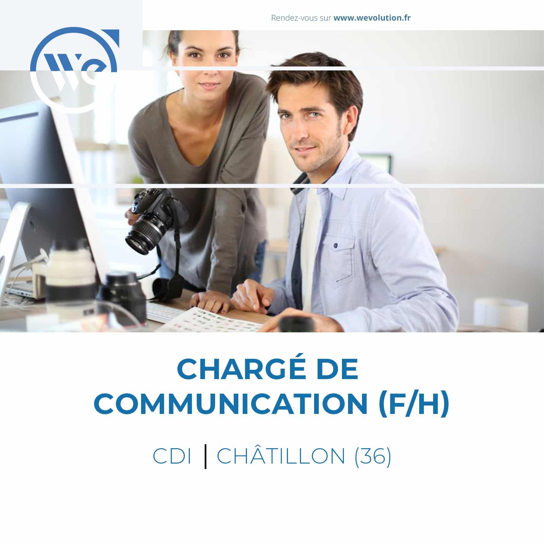 CHARGE DE COMMUNICATION (F/H) – ENTREPRISE ANONYME