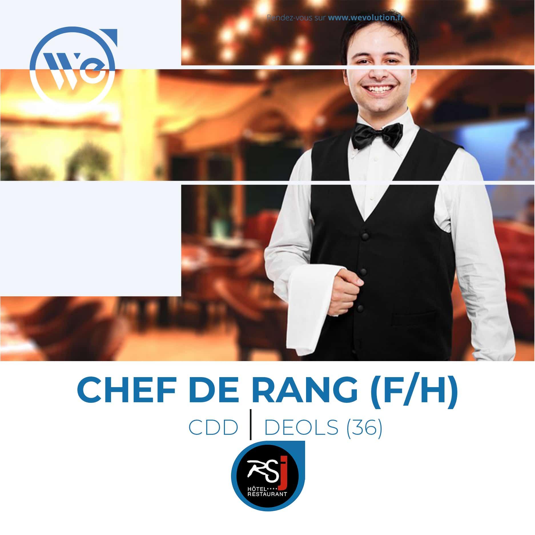 CHEF DE RANG / SERVEUR (F/H)