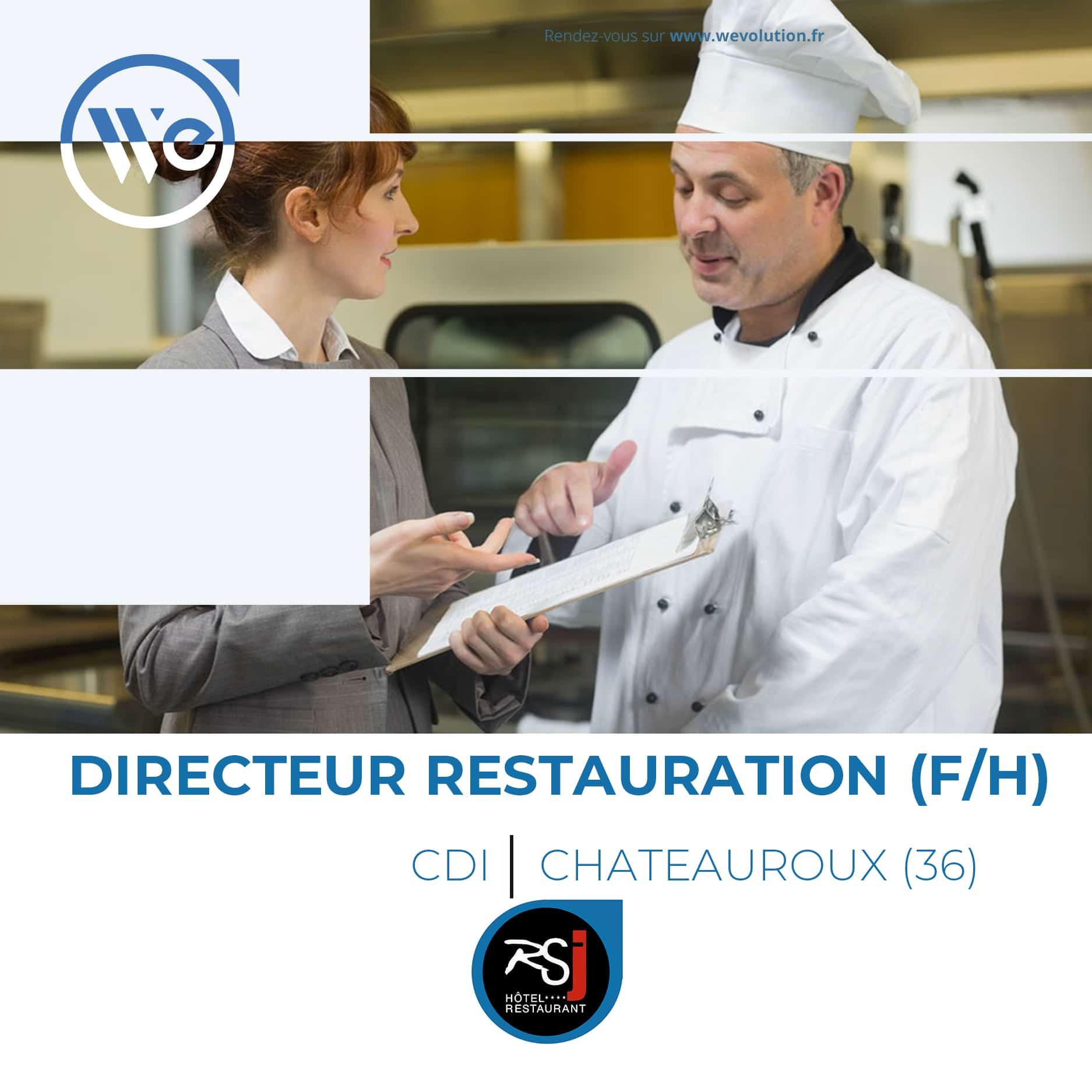 DIRECTEUR DE LA RESTAURATION (F/H)