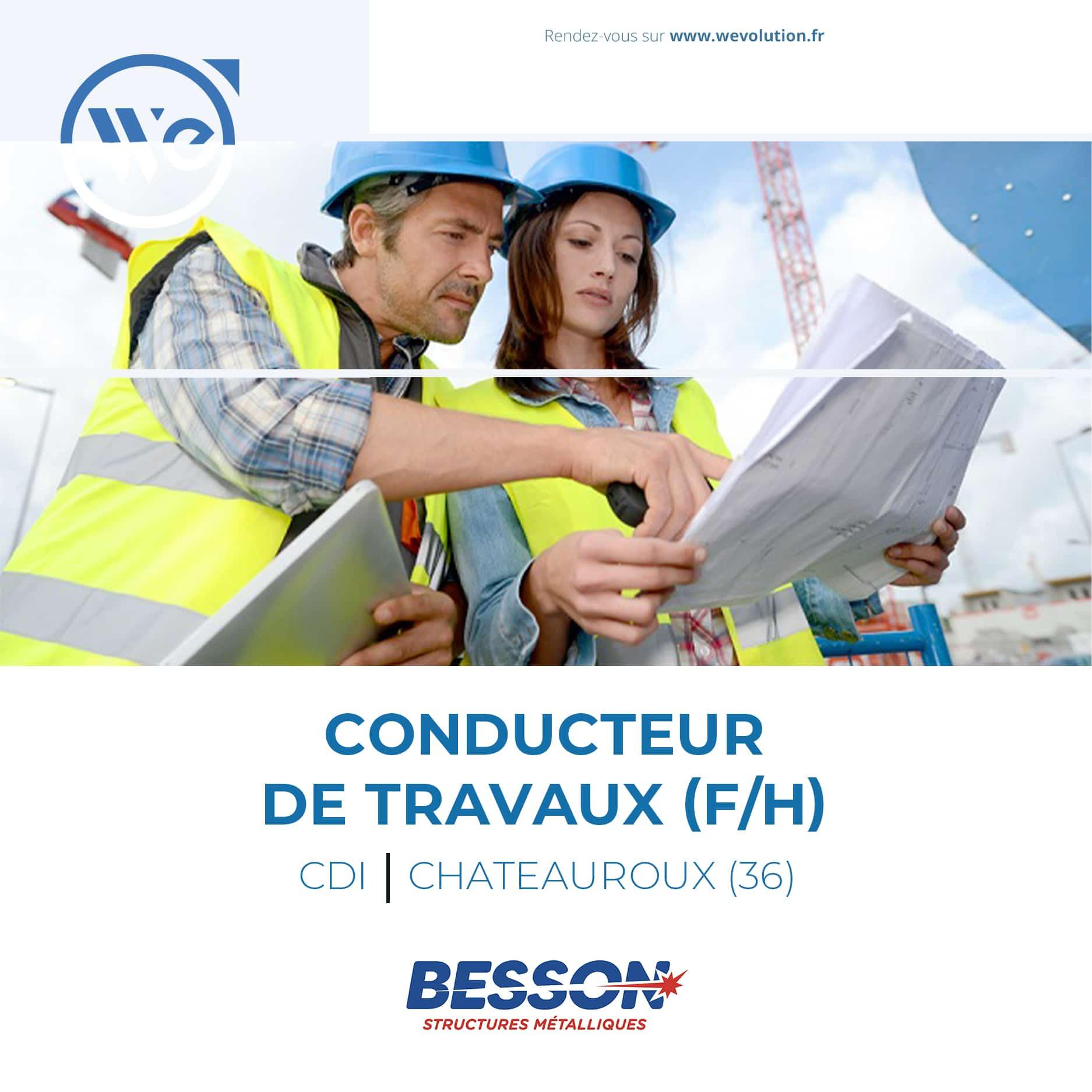 CONDUCTEUR DE TRAVAUX (F/H)