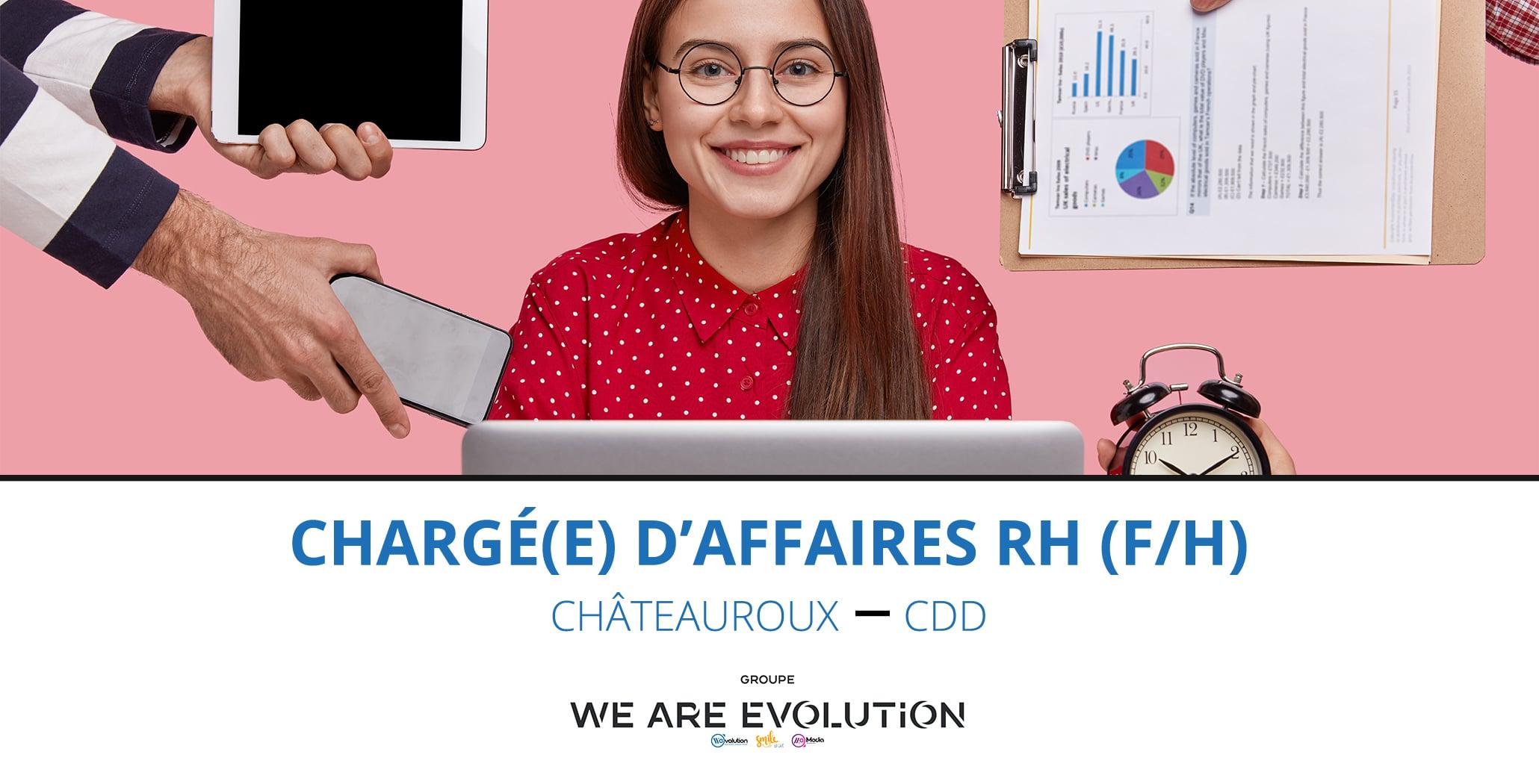 CHARGE D'AFFAIRES EN RH (F/H)