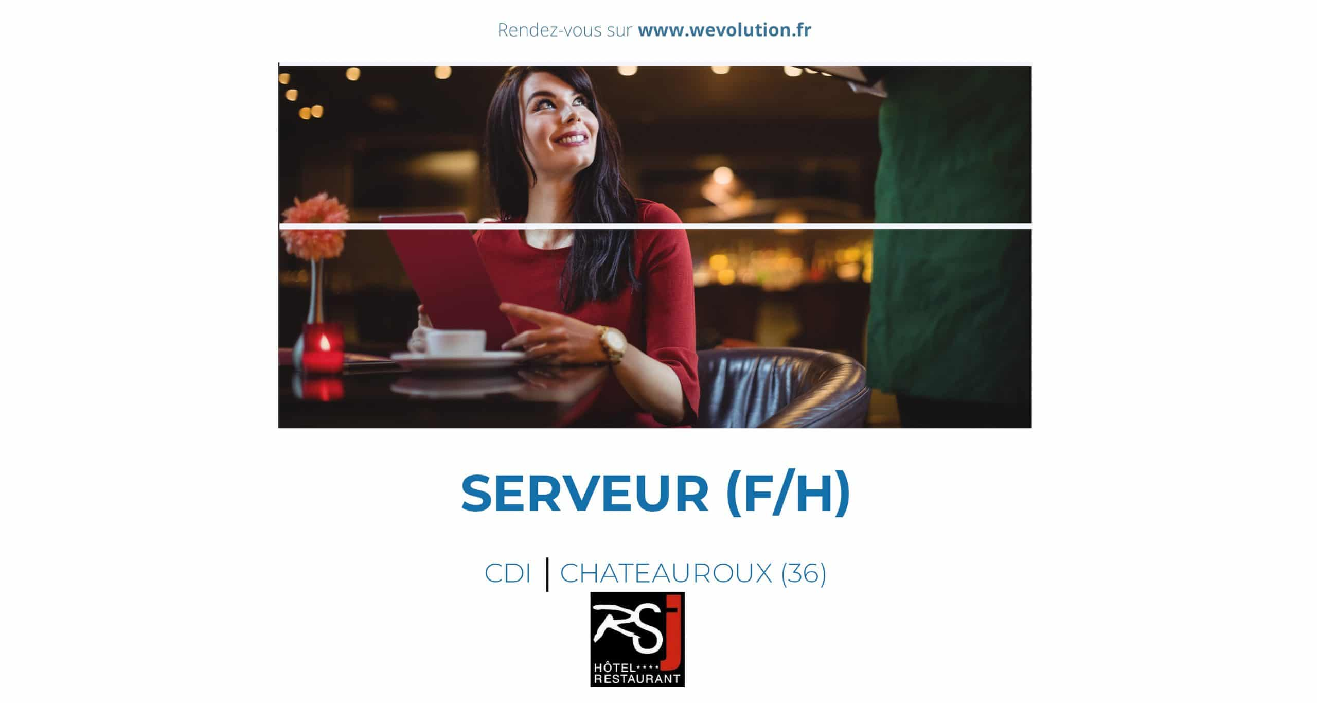 SERVEUR – CHEF DE RANG (F/H)