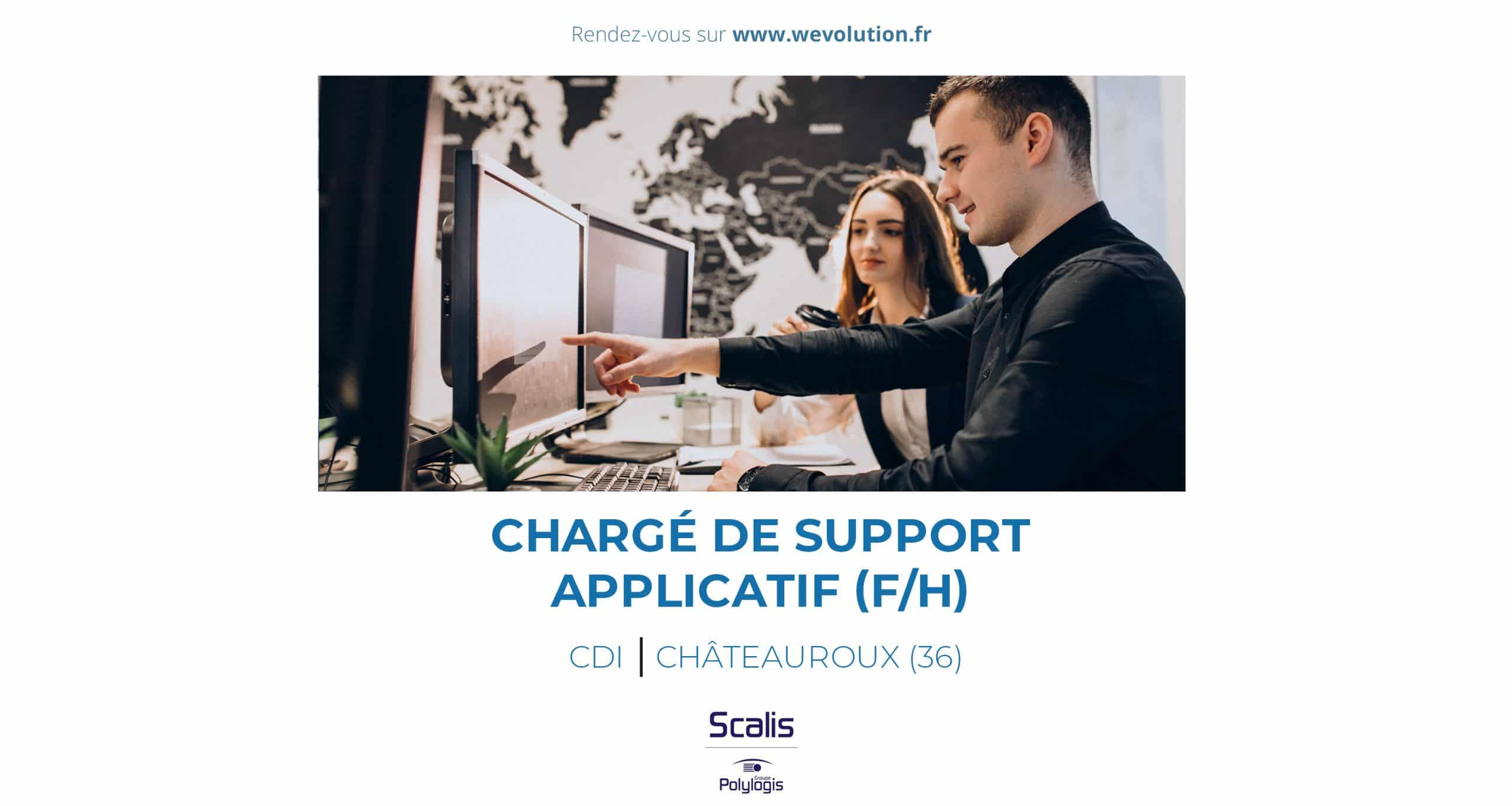 CHARGE DE SUPPORT APPLICATIF (F/H) – scalis / polylogis