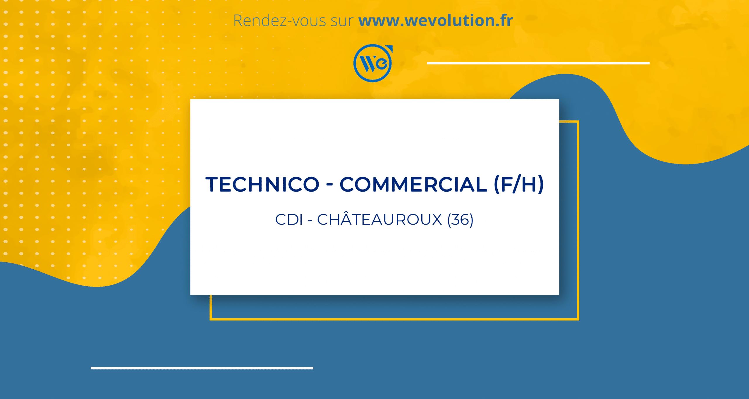 TECHNICO-COMMERCIAL (F/H) – GROUPE MI