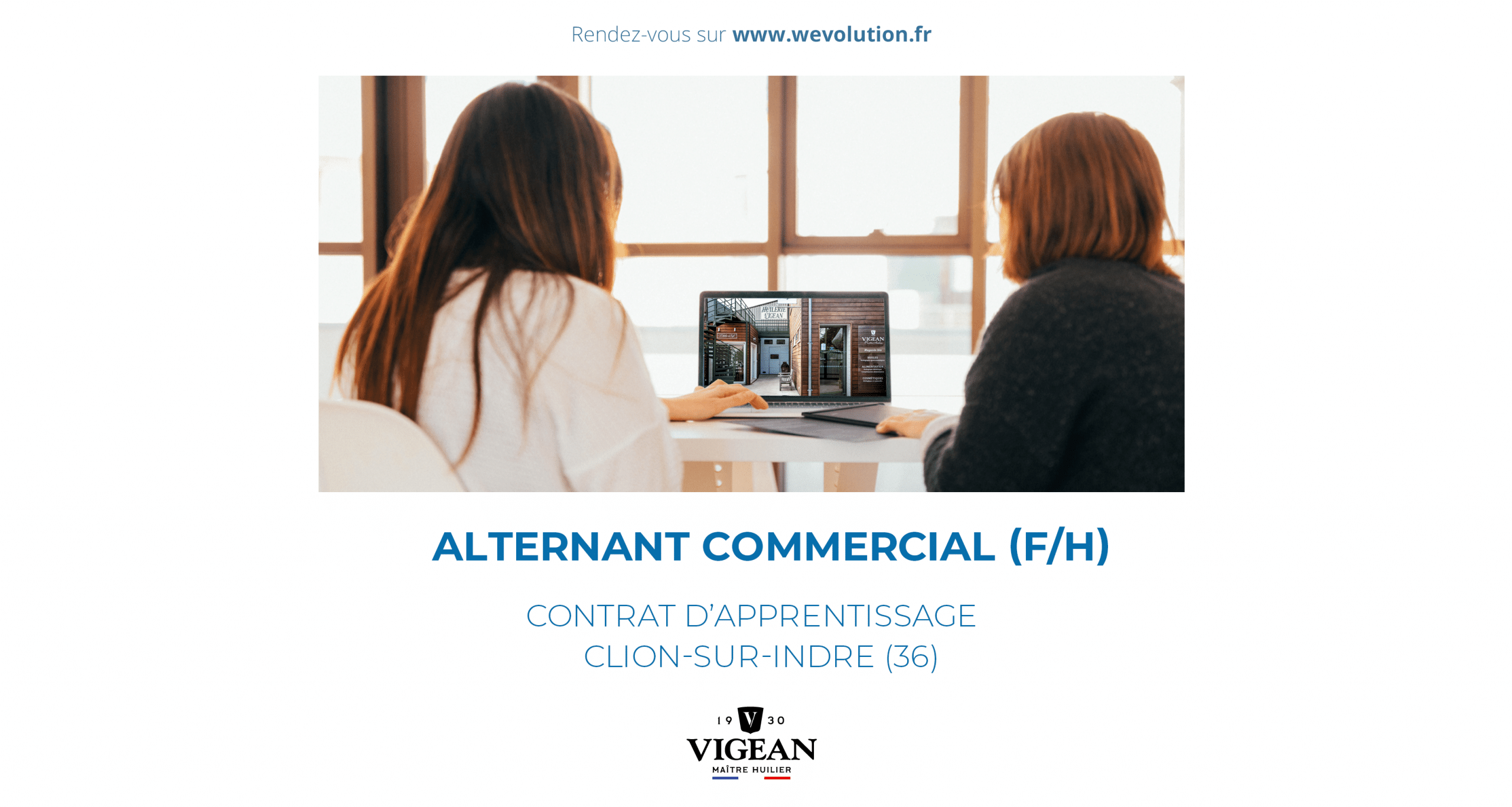 ALTERNANT COMMERCIAL – HUILERIE VIGEAN