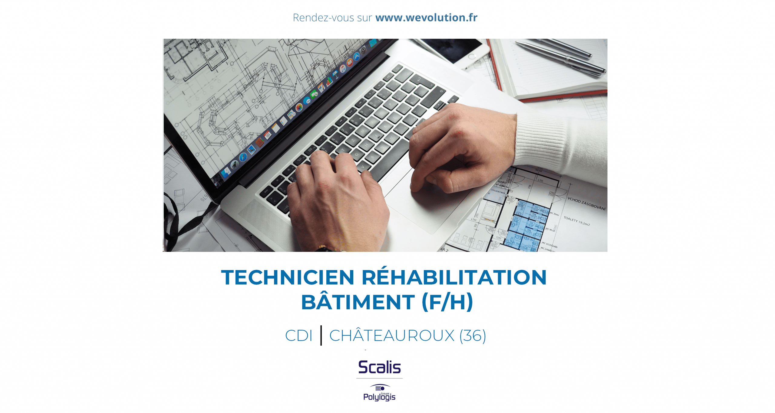 TECHNICIEN EN REHABILITATION DE BATIMENT (F/H) – scalis