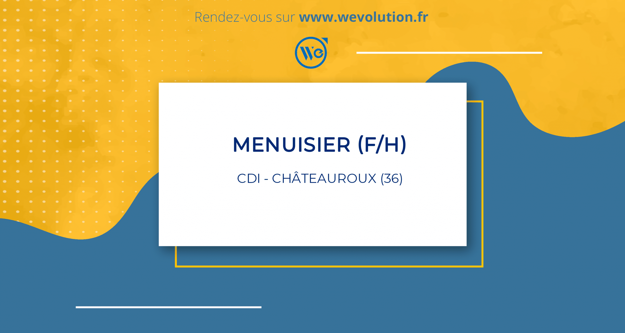 MENUISIER (F/H)