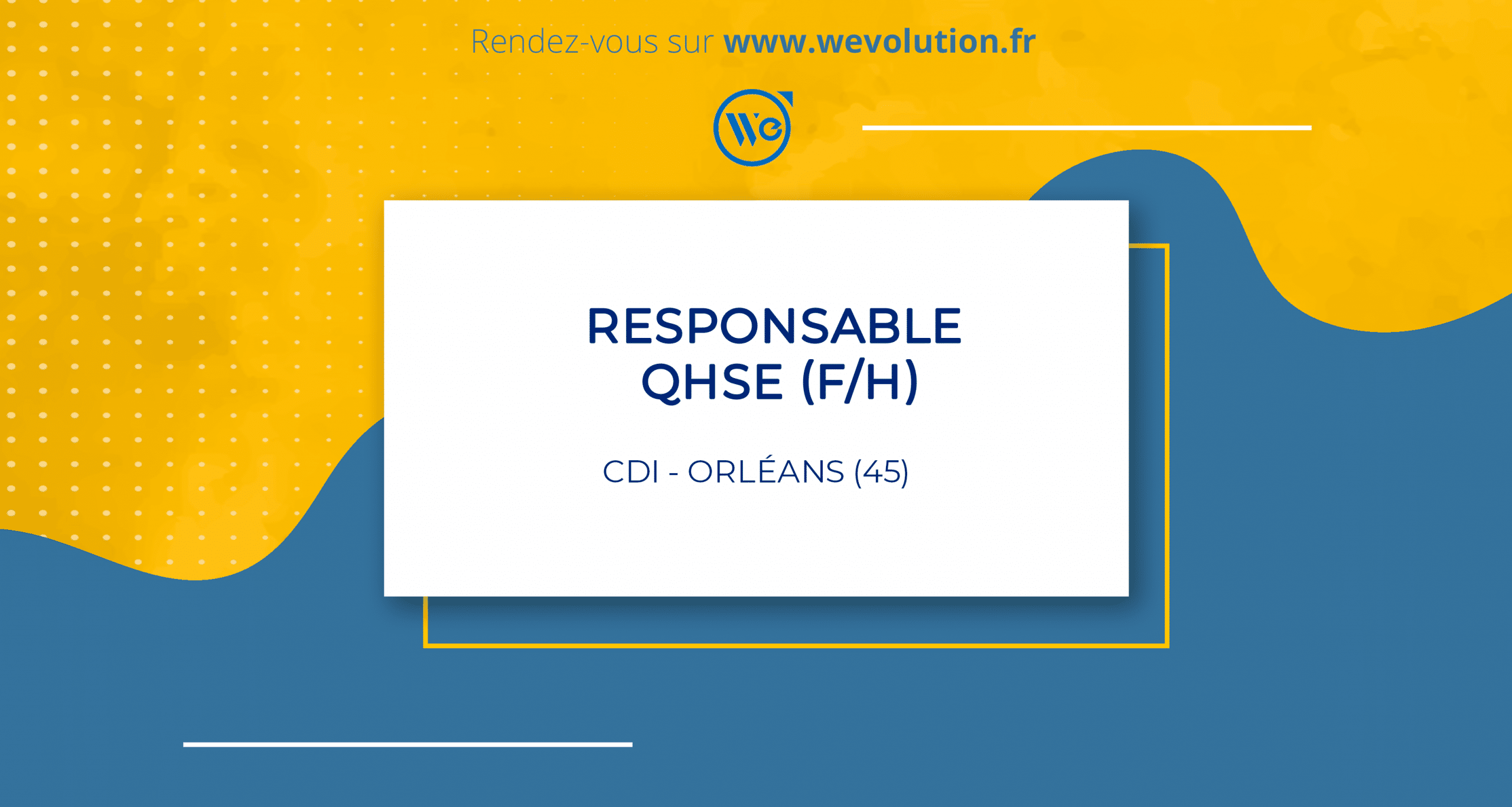 REPONSABLE QHSE (F/H)